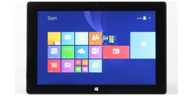 Üppig ausgestattetes Windows-Tablet im Test: Captiva Pad 10.1 Windows