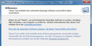 Microsoft Windows-Tool zum Entfernen bösartiger Software in neuer Version