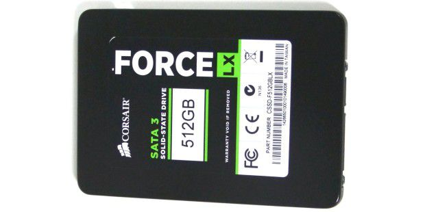 SSD im Test: Corsair Force LX