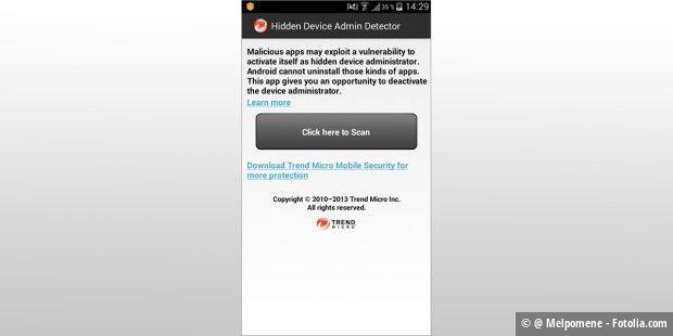 wie versteckte Apps abgerufen werden