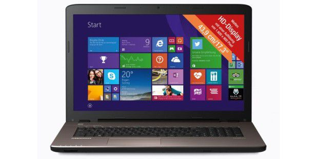 Aldi-Notebook im Test: Medion Akoya E7416