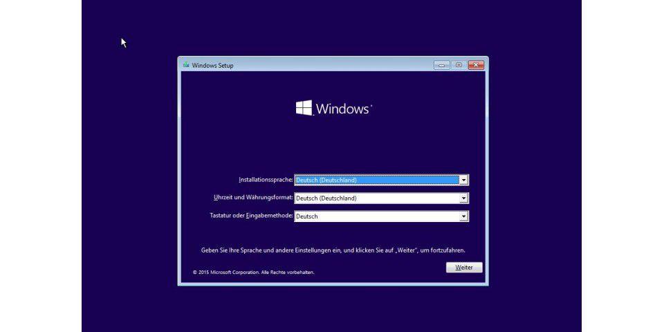 Windows 10 Preview Deutsch