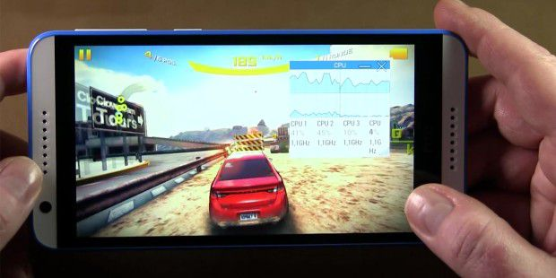 HTC Desire 820 im Game-Check