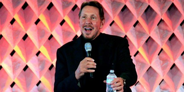 Larry Ellison, auf der CloudWorld Jan 2014