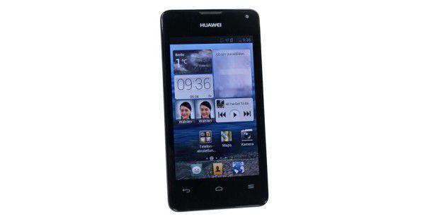 Günstiges Smartphone Huawei Ascend Y300 im Test