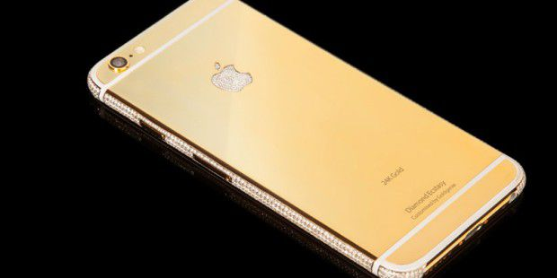 "Luxury Gold iPhone 6 (4.7"") Diamond Ecstasy Limited Edition"