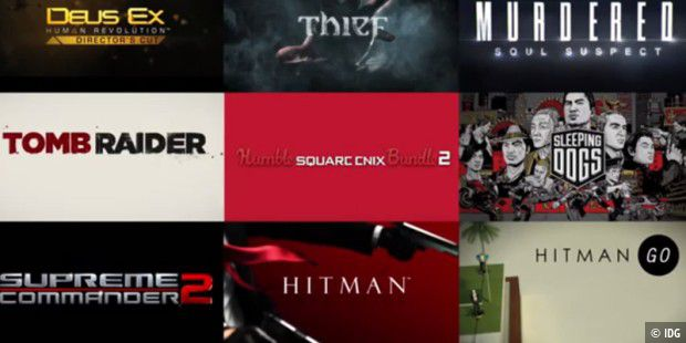 Humble Square Enix Bundle 2
