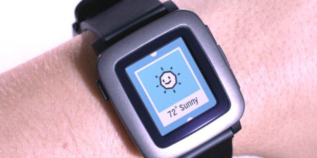 Pebble Time besitzt ein Farb-Display