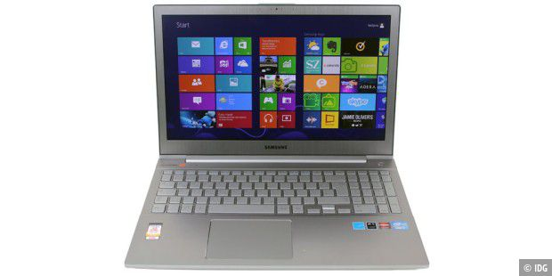 Schlankes 15-Zoll-Notebook: Samsung Ativ Book 8 im Test