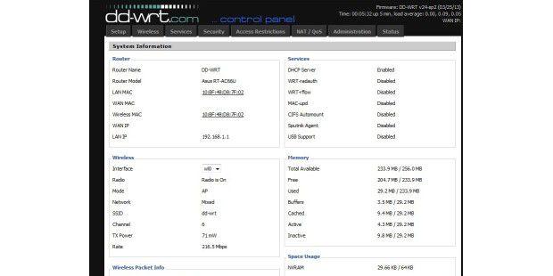 Die alternative Firmware DD-WRT macht Ihren Routermächtiger: Er gewinnt dadurch zahlreiche neue Funktionen, die dieStandard-Firmware nicht anbietet.
