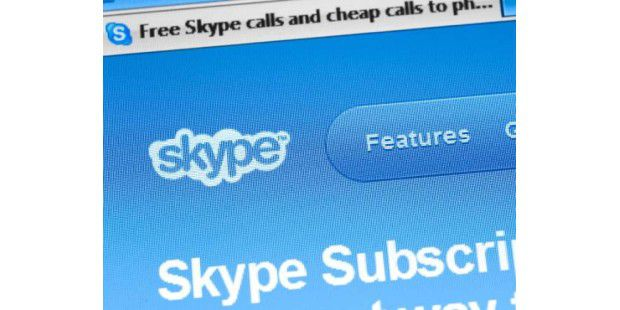So verhindern Sie personalisierte Werbung in Skype.