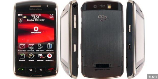 Praxistest: Blackberry 9500 Storm