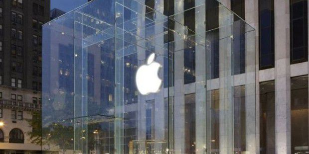 Der Apple Store in der 5th Avenue in New York ist ein Hingucker