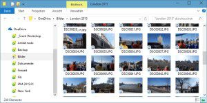 OneDrive mit neuen Funktionen in Windows 10