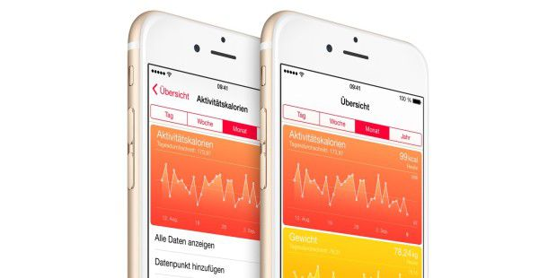 Health-App am iPhone 6