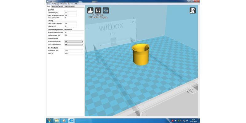 BQ Witbox im Praxistest