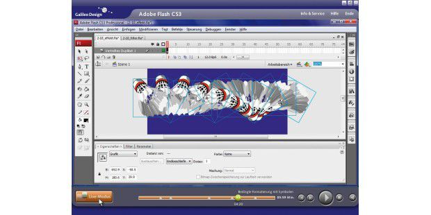 Galileo Videotutorials Creative Suite 3