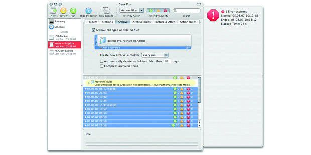 Decimus, Synk Backup Pro 6.1.1