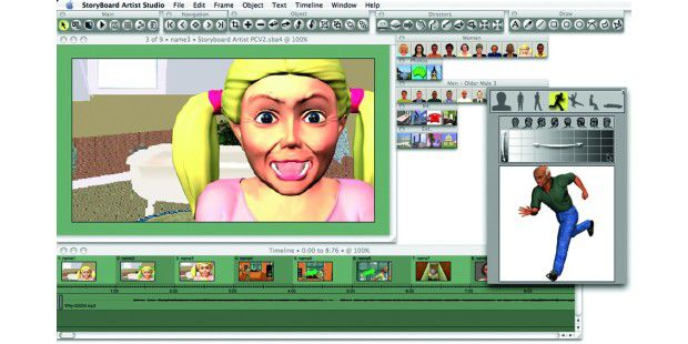 Storyboard Artist 4.2, Powerproduction Software