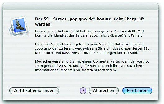 Sicherheit beim Datenverkehr - Macwelt
