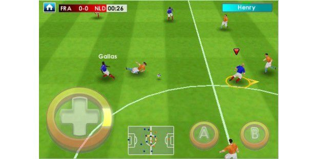 Real Soccer 2009 auf dem iPhone