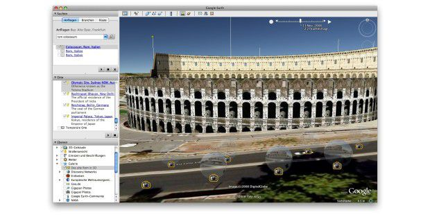 Google Earth: Rome sweet Rome