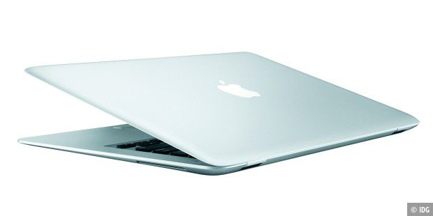 Macbook Air: Flacher geht es kaum