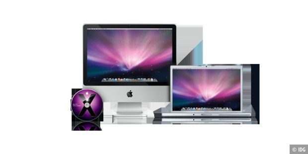 Snow Leopard Mac-OS X 10.6 iMac Macbook