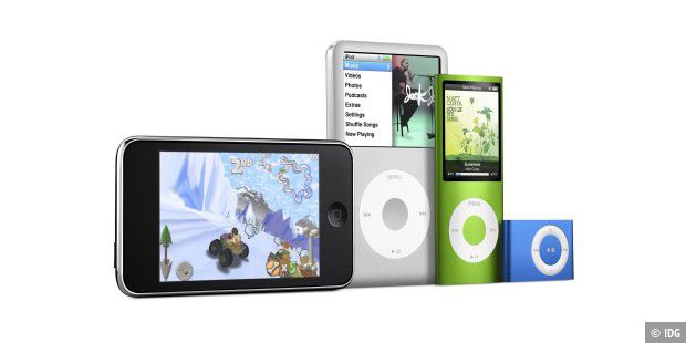 iPod Familie 2008