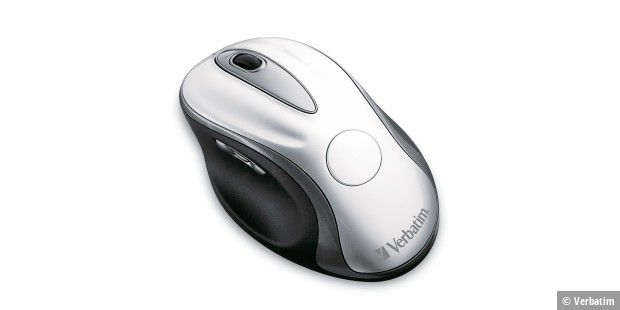 Wireless Laser Desktop Mouse mit Dockingstation