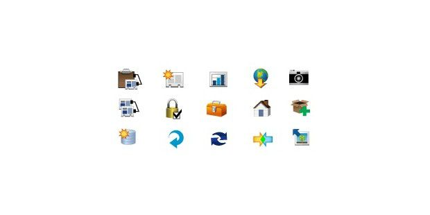 Filemaker-Icons im Paket