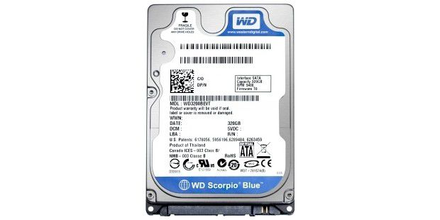 WD Scorpio Blue 640 GB