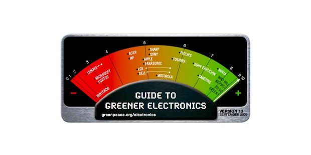 Greenpeace Guide to Greener Electronics Q3 2009