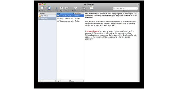 Mac Notepad 7
