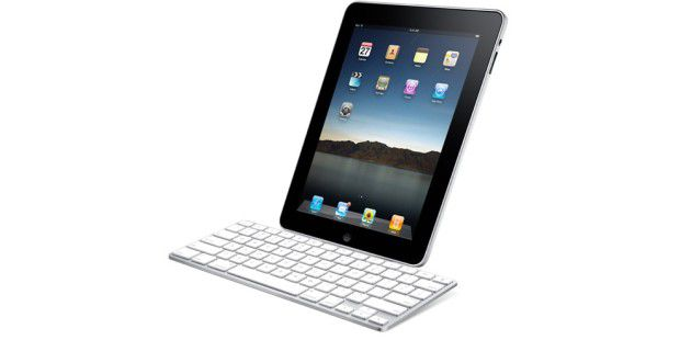 iPad Keyboard Dock mit iPad