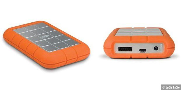 La Cie Rugged Harddisk