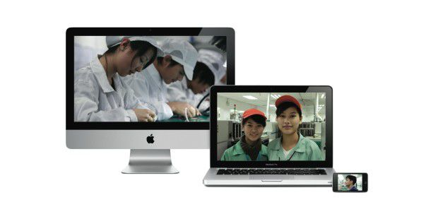 Apple Arbeiter China