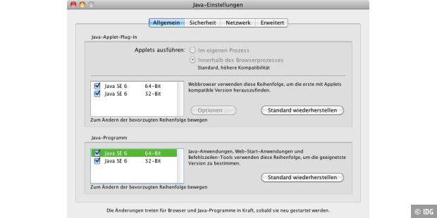 Java applet wird blockiert