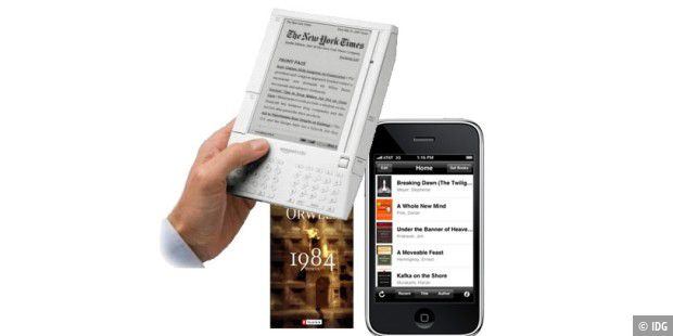 Kindle iPhone 1984
