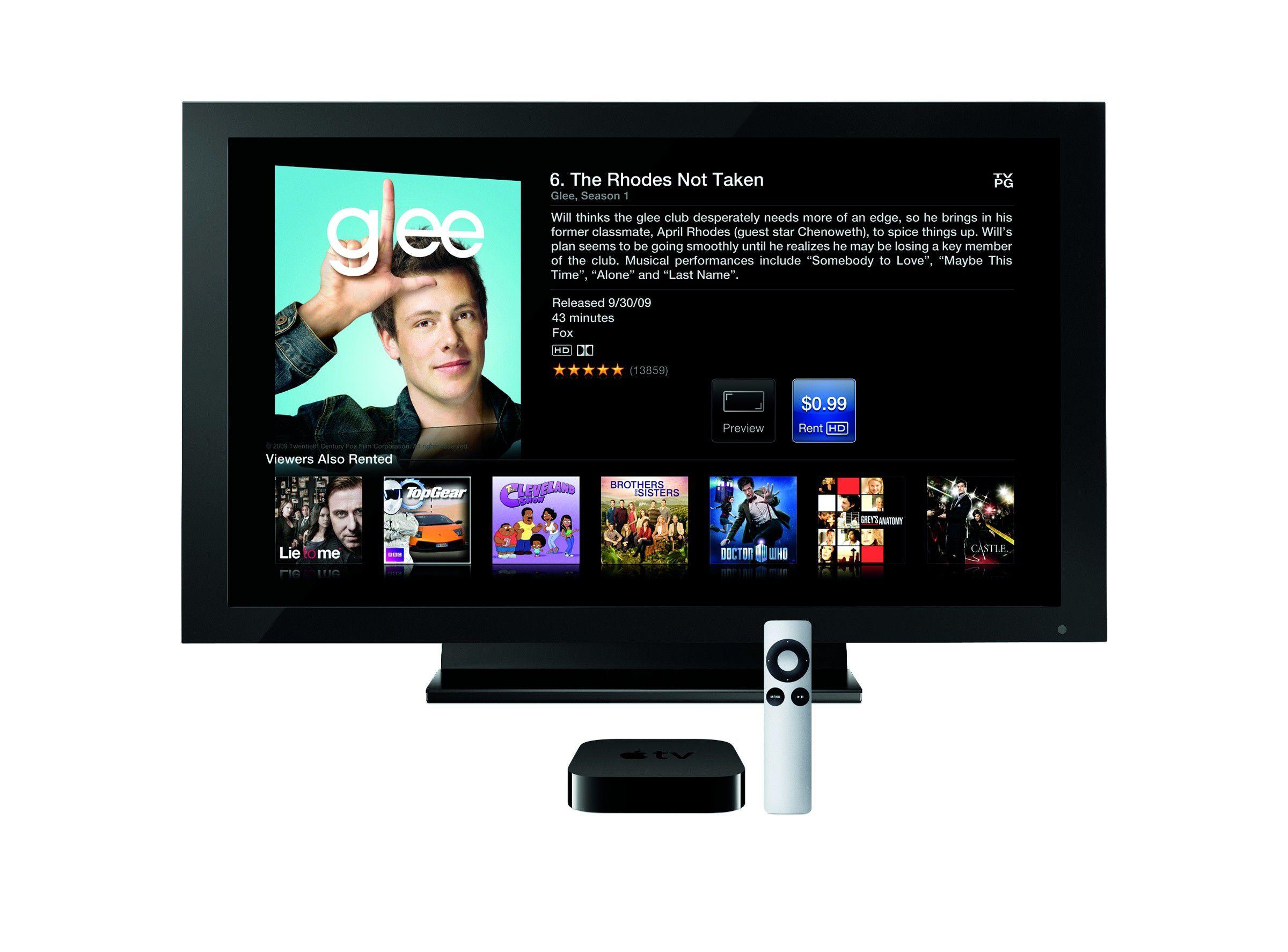 Apple TV im Test Videos Musik und Fotos im Wohnzimmer
