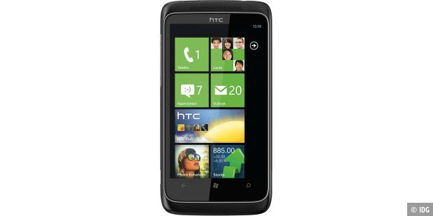HTC Trophy mit Windows 7 Phone