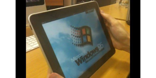 Windows 95 auf iPad