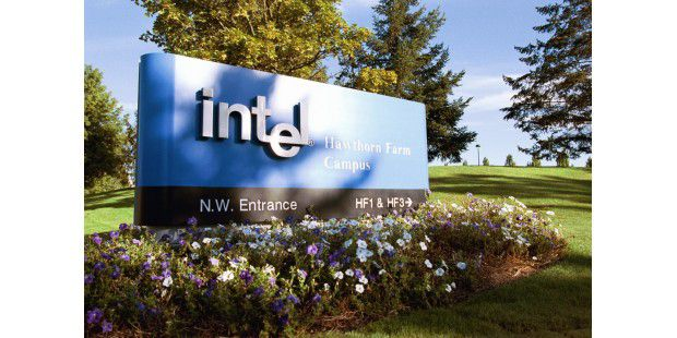 Intel Schild (Hawthorne Farm, Oregon)