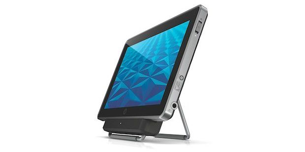 HP Tablet Slate: Mit Windows 7 für Business-Anwender. (Quelle: HP)