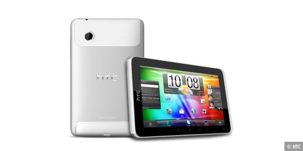 HTC Flyer Android Tablet 2 Ansichten