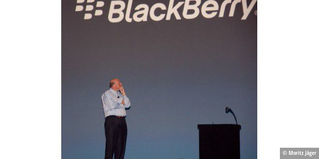 Steve Ballmer auf der BlackBerry World