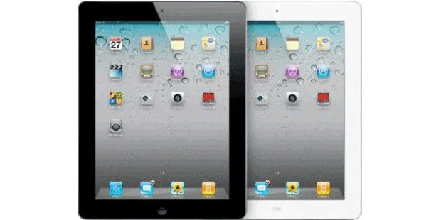 Apple iPad 2 transparent