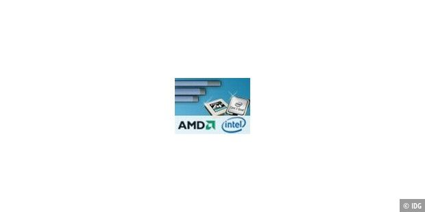Aufmacher, Teaser, AMD, Intel, Quad-Core, CPU