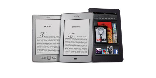 Amazon Kindle, Kindle touch, Kindle fire
