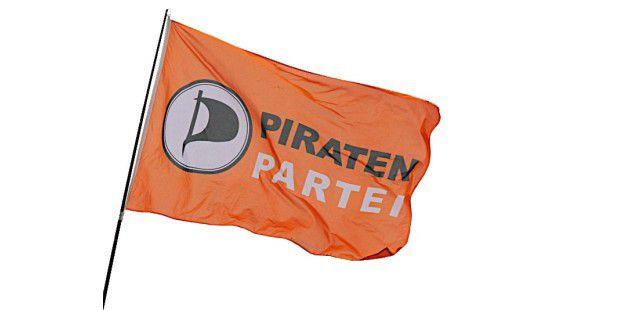Piratenpartei Piraten Flagge